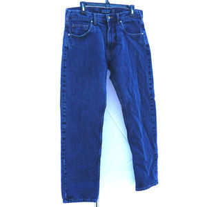 Men's Patagonia warm lined blue jeans EUC 33X30